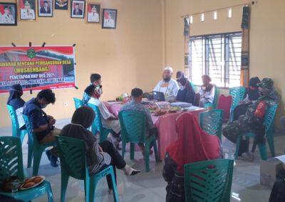Musyawarah Perencanaan Pembangunan Desa (MUSRENBANG) dan Penetapan RKPDes 2021